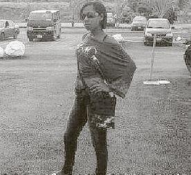 De achttienjarige vrouw Rudilaina Perez Perez.