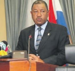 Minister van Justitie Nelson Navarro: ,,Iedereen moet op een dag sterven. Als
