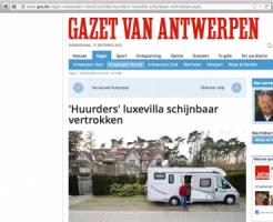 Gazet van Antwerpen - Huurders luxevilla schijnbaar vertrokken volgens van Assendelft van Wijck-1