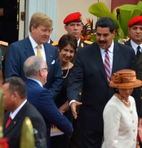 Willem Alexander en Maxima in Venezuela
