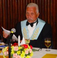 Dhr. Hendrik Schotte - voorzitter Freemasons Curaçao