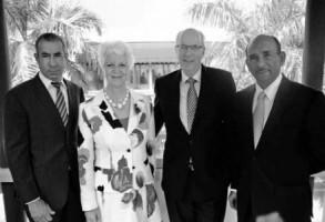 Het bestuur van Cft voor Curaçao en Sint Maarten. FOTO'S CFT