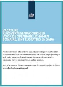 Advertentie-Bonaire