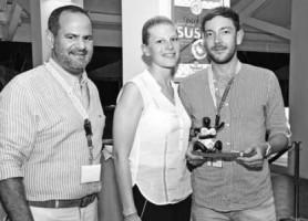 De Curaçao Strategy Award ging naar Dertour. FOTO CTB
