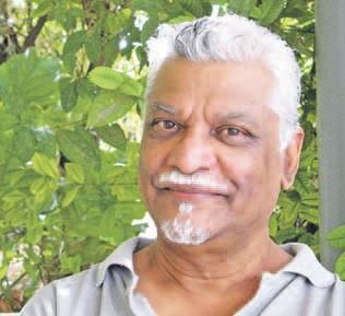 Milieudeskundige en voorzitter van Defensa Ambiental, Lloyd Narain. FOTO RNW