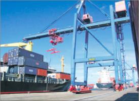 CPS had sinds begin jaren '90 het monopolie op het afhandelen van containers en goederen in de Curaçaose havens. FOTO ARCHIEF