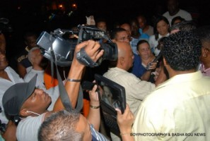 Voorlopige invrijheidstelling Babel-verdachte Gerrit Schotte. Foto's: Basha Bou