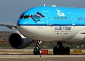 Bio-jet landt op Aruba