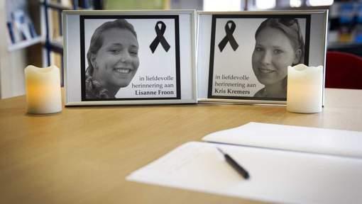 Duizenden condoleances voor Kris en Lisanne  © anp.