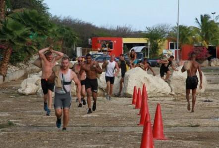 Meer dan 150 personen hebben zaterdag meegedaan aan de eerste Bootcamp Run