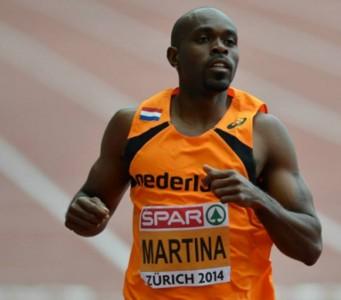 Martina zegevierd op 200 mtr