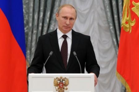 Volgens Poetin is internet 'een speciaal project van de Amerikaanse CIA' - Foto |  AFP
