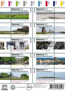 Willemstad prijkt op nieuwe postzegel