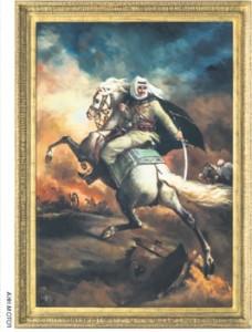 The Syrian Revolution Commanding a Charge (2010) de la garde impériale chargeant' (1812)