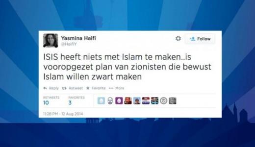 Yasmina Haifi-tweet ISIS