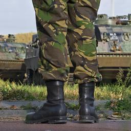Camouflageverf defensie veroorzaakte mogelijk kanker Foto |   ANP