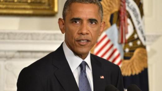 Obama: Luchtaanvallen op ISIS © EPA