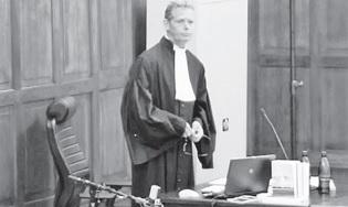 Officier van justitie Gert Rip