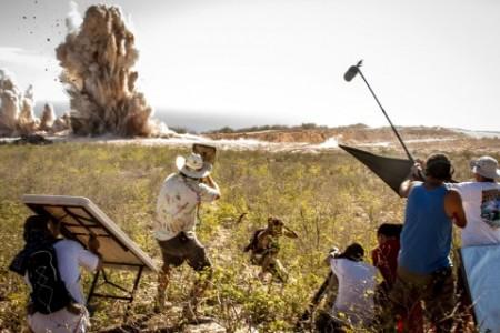De Mijnmaatschappij vormde afgelopen week het decor van een apocalyptische filmscène