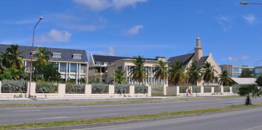 Het huidige ziekenhuis van Curaçao   Foto    Persbureau Curaçao
