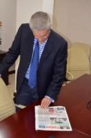 Theo Heyliger wordt de nieuwe minister president van Sint Maarten - Foto    Today / Leo Brown