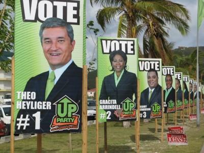 Vier ministers Sint Maarten niet door screening