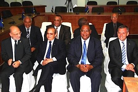 De eerste frisse ongescreende regering van het Land Curaçao: Kabinet Schotte