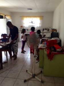 Kinderen kunnen bij het crisishuis even hun thuissituatie ontvluchten - Foto |  Leoni Leidel-Schenk