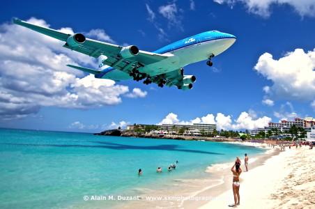 KLM vlucht met motorstoring 24 uur op Sint Maarten