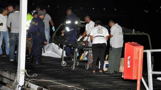 De co-piloot overleefde het ongeluk niet   Foto sxmislandtime.com