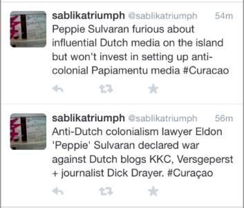 20141028 - Sulvaran about KKC, Versgeperst en Dick Drayer