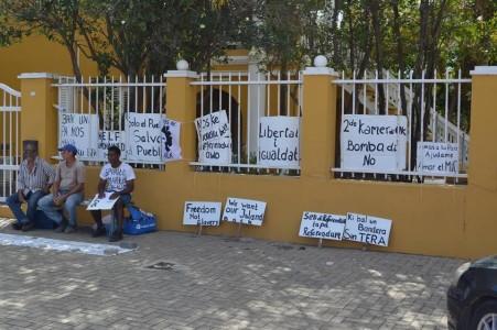 Groep voor het bestuurscollege - Foto |  Extra Bonaire