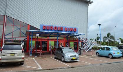 Laatste Burger King in Suriname