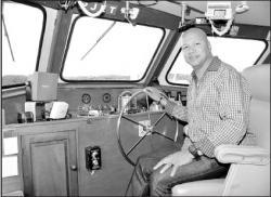 Darwin Gregg met Ferry naar Venezuela | Fotot: Extra