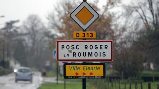 De Franse beul zou afkomstig zijn uit dit Noord-Franse dorp   AFP .