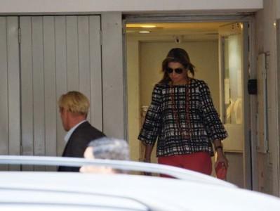 Koningin Máxima na een bezoek aan haar vader in het ziekenhuis (17 november). Foto: PikoPress