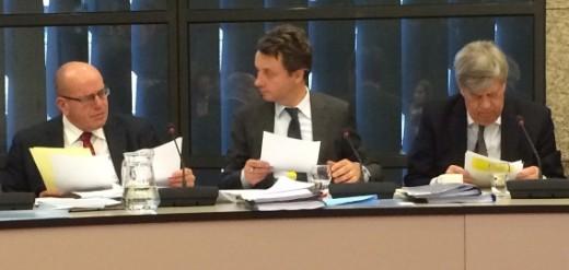 Fred Teeven (l) en Ivo Opstelten (r) - Foto |  Jamila Baaziz