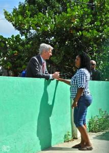 Plasterk op Curaçao | Foto Bea Moedt