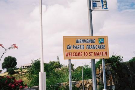 Op St. Maarten ruziet de gendarmerie aan de Franse kant met de politie op het Nederlandse deel van het eiland