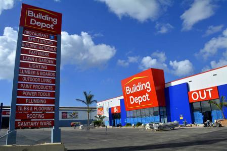 Building Depot vandaag weer open | Foto Dick Drayer