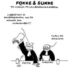 Fokke & Sukke over de vrijheid van meningsuiting