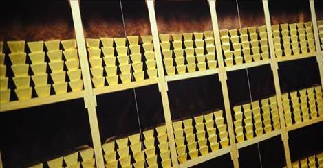 goud goudstaven | Foto ANP