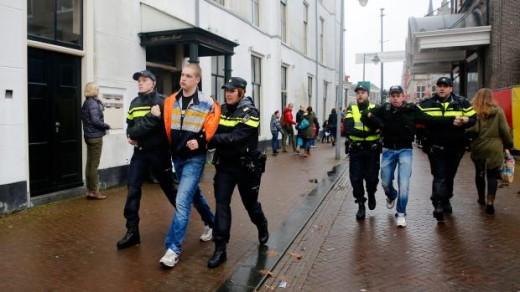 Sinterklaasintocht 2014 in Gouda: Alle arrestanten intocht op vrije voeten | © ANP