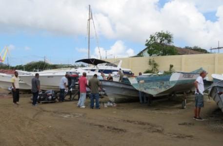 Volgende week woensdag, 26 november, worden twintig boten die afgelopen maand in beslag zijn genomen, geveild. FOTO OM