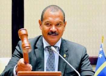 Statenvoorzitter Mike Franco: 'Schotte leidt aandacht af' | Foto Persbureau Curacao