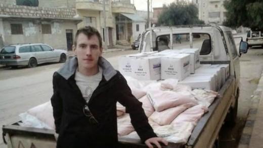 Een van de mensen die zijn vermoord, zou de Amerikaanse hulpverlener Peter Kassig zijn | AFP .
