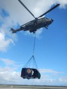 Defensie neemt vliegverkeer serieus