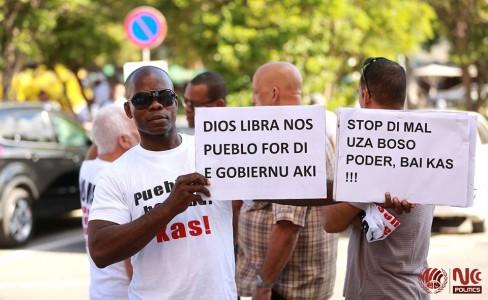 MFK-manifestant Jorge 'Palu Djo' Sulbaran