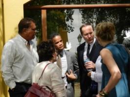 Knoops in gesprek met de verdachten in maart   foto: Belkis Osepa