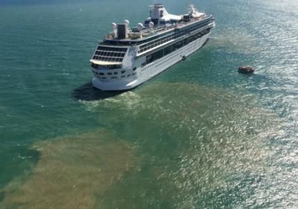 Cruiseschepen dumpen hun rioolwater massaal op open zee